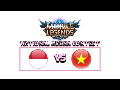 Download Video INDONESIA VS VIETNAM ARENA CONTEST MOBILE LEGENDS !