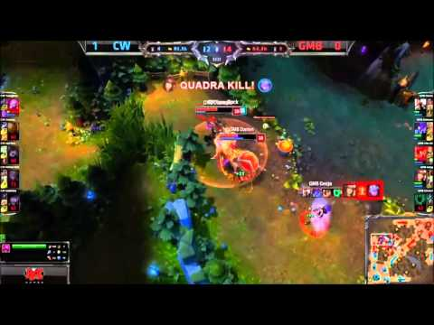 Kill - Genjas penta-kill, GMB vs CW game 2 (BO3). First penta-kill in the LCS 2014 season. Subscribe!