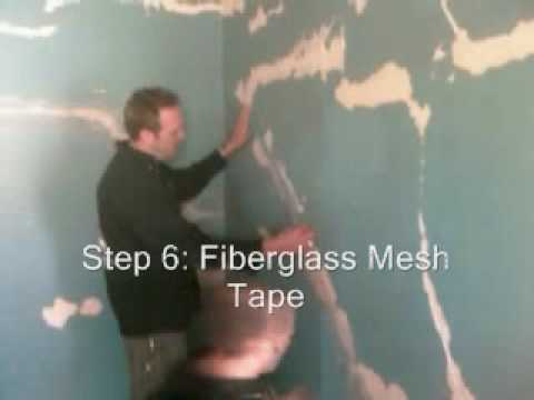 plaster repair - Zack and Mac of Z Painting Studio discuss materials, preparation, and procedure for dealing with the unsightly cracks that can appear in plaster walls over t...
