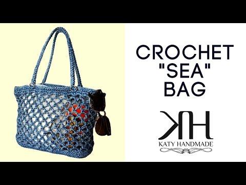 uncinetto - bellissima borsa da mare!