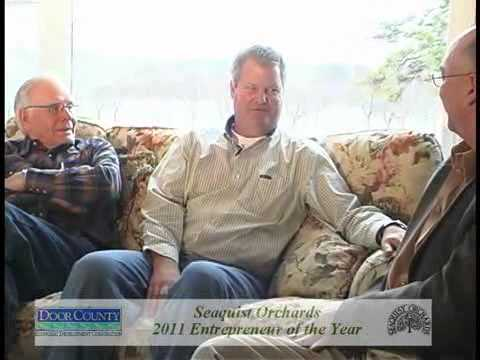 Seaquists are Winners of Door County Entrepreneur of the Year Award