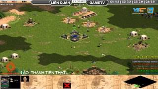 Liên Quân vs GameTV C3T3, ngày 30/08/2015, game đế chế, clip aoe, chim sẻ đi nắng, aoe 2015