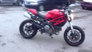 1. 2012 DUCATI MONSTER 796 ABS