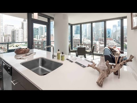 Tour an 09-tier two-bedroom model at River North's new Gallery on Wells