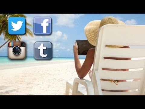 when - How much Twitter, Tumblr, Facebook, and Instagram is okay when you're on vacation? Some people argue that vacation is a time to unplug completely, while others say use moderation. In any case,...