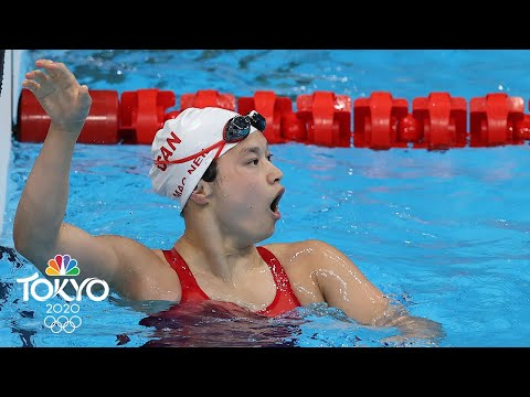Canada's Maggie MacNeil wins gold in women's 100m butterfly nailbiter | Tokyo Olympics | NBC Sports
