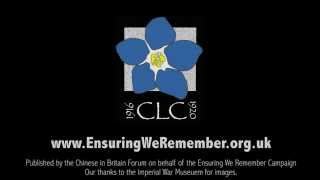 An introduction to the Chinese Labour Corps Memorial Campaign