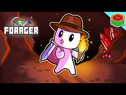 EXPLORING THE DESERT DUNGEON! | Forager #5