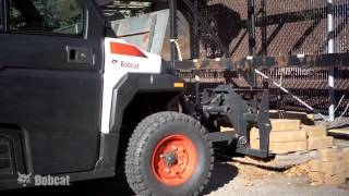 3. Bobcat 3650 Hydrostatic Utility Vehicle (UTV)