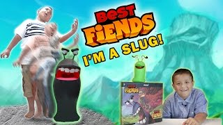 Mike Turns into a SLUG!!!! (Best Fiends KIDROBOT Vinyl Slugs Unboxing) FGTEEV EPIC SKIT