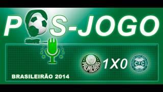 Pós-jogo Web Rádio Verdão - Palmeiras 1 x 0 Coritiba Campeonato Brasileiro 2014.