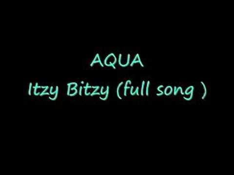 Tekst piosenki Aqua - Itzy Bitzy Spider po polsku