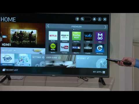 "LG 42"" Smart LED 1080p HDTV W/ 3 HDMI Inputs With David Venable"