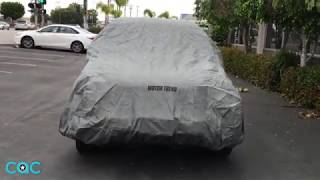 Introducing BDK and Motor Trend's SUV Cover. Fits all CR-V models and years. Includes a lock in order to secure the car cover.