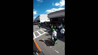 St. Patrick's Day Parade time Lapse