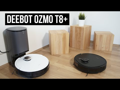 Ecovacs Deebot Ozmo T8+ ► Ecovacs T8 True Detect mit Absaugstation im Test vs T8 Aivi