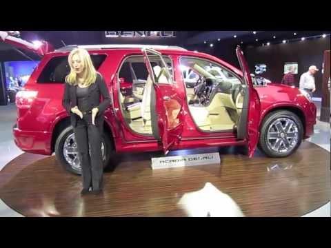 Cadillac  2012 DENALI ACADIA - 2012 Detroit Auto Show