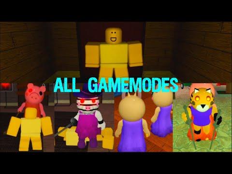 ALL GAMEMODES ROBLOX PIGGY 로블록스 피기 모든 게임모드