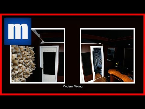 #9 (Time LAPSE) Building a Home Recording Studio – Modern Mixing