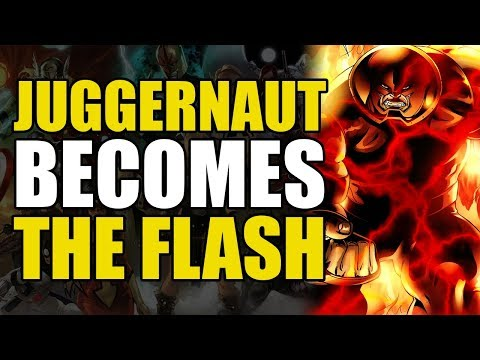 Juggernaut Becomes The Flash (What If Series)
