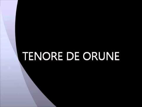 tENORE DE ORUNE A BOCHE E BALLU
