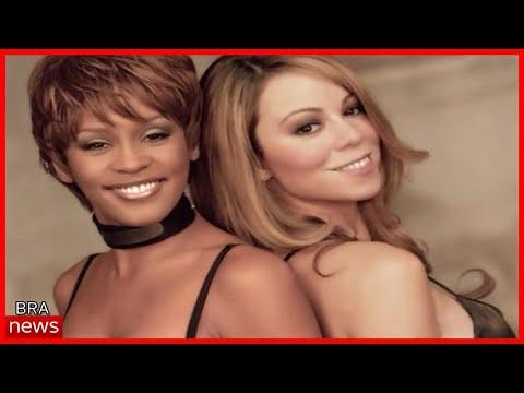 """Mariah Carey presta homenagem a Whitney Houston: """"sinto sua falta, amiga"""""""