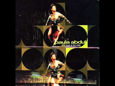 Paula Abdul - My Love Is For Real (Strike's Straight Up There Mix) (Audio) (HQ)
