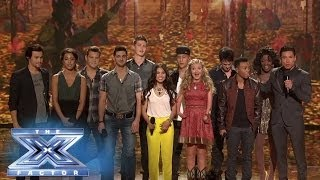 The Top 8 Give A Special Thanksgiving Performance! - THE X FACTOR USA 2013