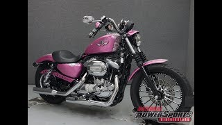 7. 2007  HARLEY DAVIDSON  XL1200N SPORTSTER 1200 NIGHTSTER    - National Powersports Distributors