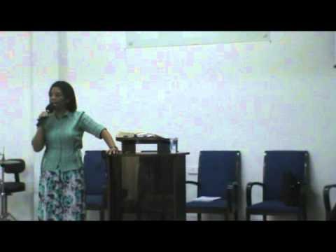 Comunidade União Cristã - Pregação - Culto de Mulheres - Miss. Hosana