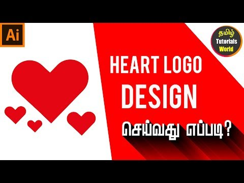 How To Create Heart Shape In Illustrator CC Tamil Tutorials World_HD