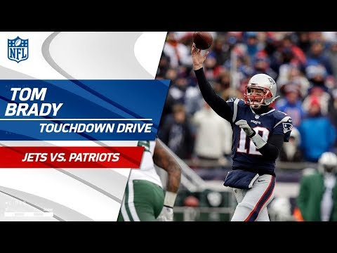 Video: Tom Brady Puts Together Big TD Drive to Extend Lead! | Jets vs. Patriots | NFL Wk 17 Highlights