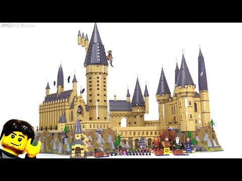 LEGO Harry Potter Hogwarts Castle 2018 full review! 71043