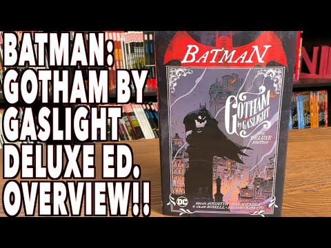 Batman: Gotham by Gaslight The Deluxe Edition Hardcover Overview!