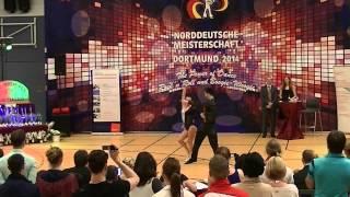 Katharina Bürger & Tobias Bludau - Norddeutsche Meisterschaft 2014