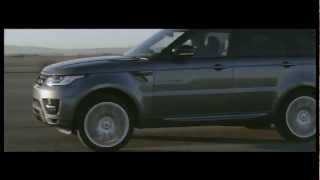 New Range Rover Sport  Dynamics 2013