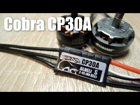 Cobra CP30A ESC Review and test