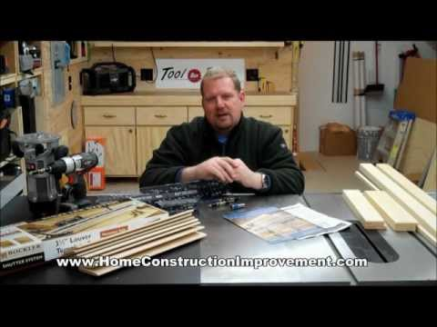 Rockler Shutter System: Introduction