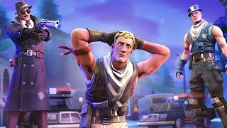 Swatted during a Fortnite win...