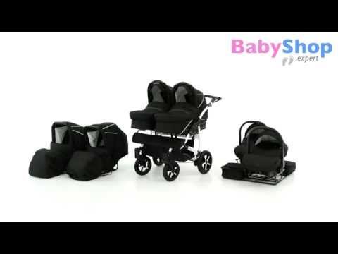 Zwillingskinderwagen Danny Sport 5 test - babyshop.expert