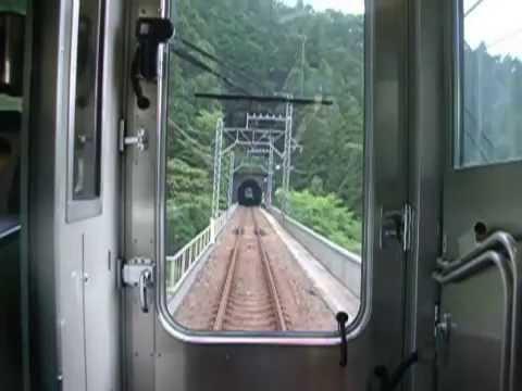Seibu Chichibu Line Yokoze ~ Hannō 西武秩父線 横瀬~飯能 後面展望 (видео)