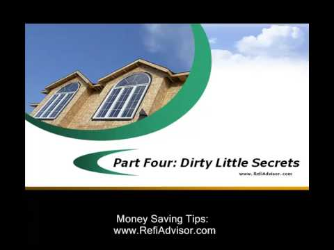 Mortgage Refinancing Secrets