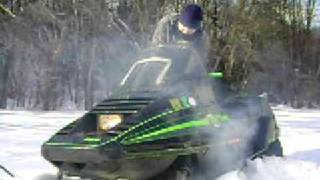 7. 1988 Arctic Cat Eltigre 5000 Cold Start