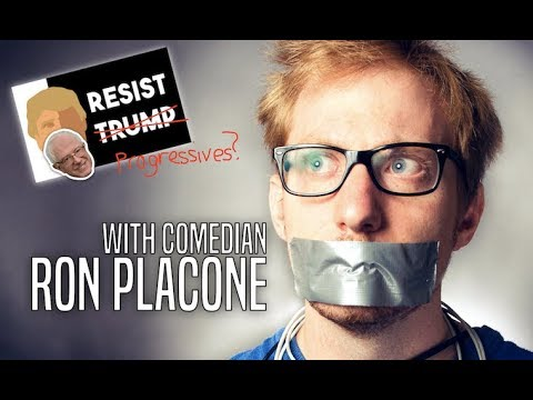 What Should Progressives Do if Democrats Resist Change? (w/Comedian Ron Placone) (видео)