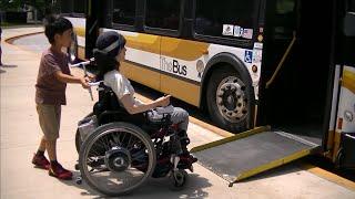 車椅子で行くハワイ TheBus編 (公共交通・車いす・障害者)
