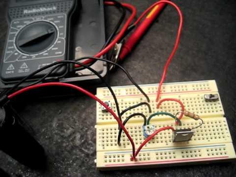 Simple Adjustable Voltage Regulator IC (LM317T)