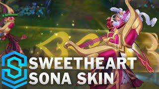 Chi tiết bộ trang phục Sona Tiên Nữ Tình Yêu (Sweetheart Sona)
