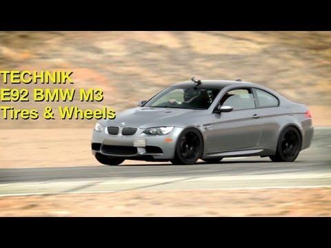 BMW E92 M3 Yokohama AD08 tires and Advan RSII wheels - Technik