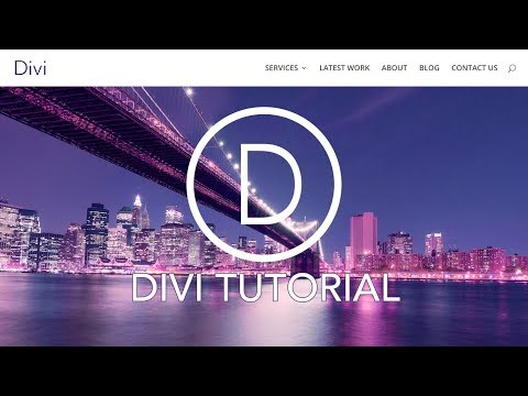 How To Make A WordPress Website 2017 | Divi Tutorial (видео)