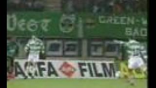 Didi Kühbauer erzielt Führungstor gegen Sporting
